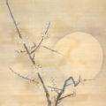 「月下白梅図」