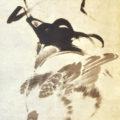 「雌雄鶏図」