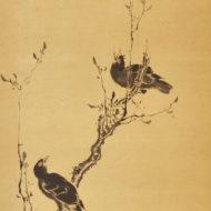 「叭々鳥図」
