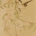 「花鳥図(二段貼双幅)」