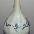 「李朝青花花瓶」