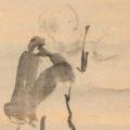 「蜆子和尚図」