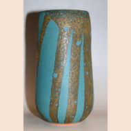 「雲藍條文花瓶」