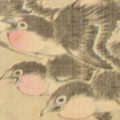 「百雀・百燕図( 双幅)」
