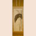 「雨中芭蕉蝸牛圖」