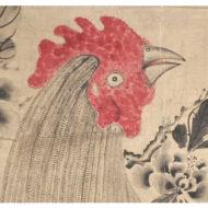 「雄鶏図」