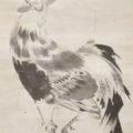 「梅に鶏図」