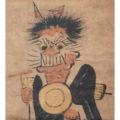 大津絵「鬼の念仏」