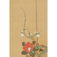 「春冬の図」(三幅対)