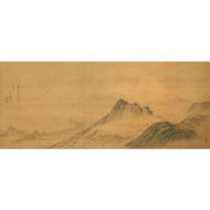 「日金山眺望富士山図」